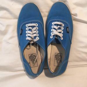 EUC Royal blue Vans